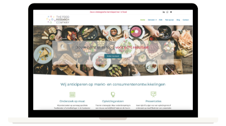 Website The Food Research Company